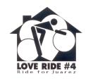 Logo for a non-profit bike race fundraiser